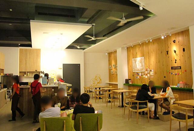 今天的小鎮非常熱鬧,來了好多客人呢!!-思默好時-台中咖啡館