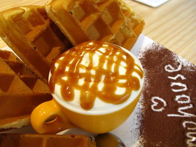 焦糖奶油-思默好時-台中咖啡館