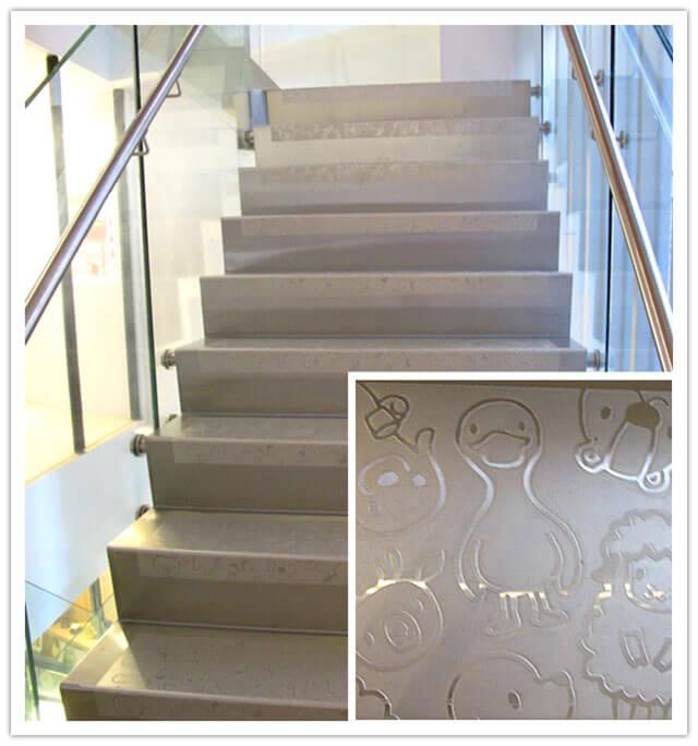 樓梯的圖案也超可愛的~~~-思默好時-台中咖啡館