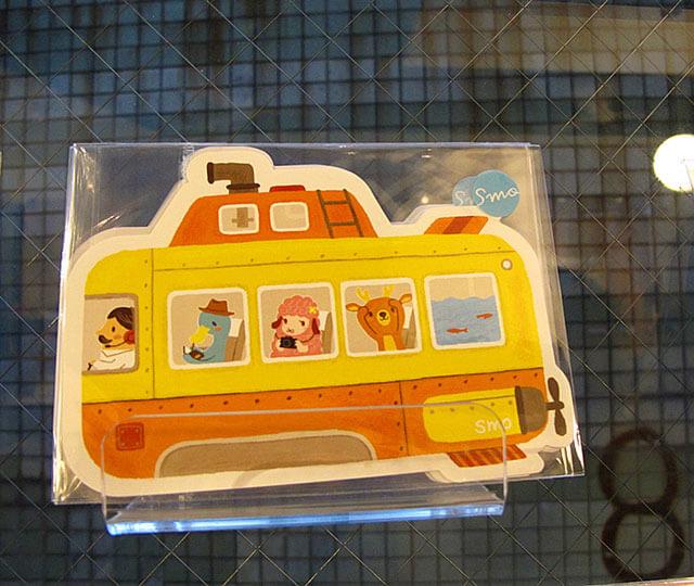 潛水艇的名信片-思默好時-台中咖啡館