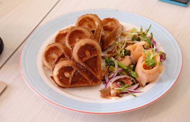 海洋燻鮭魚鬆餅-1-Lazy sun Cafe