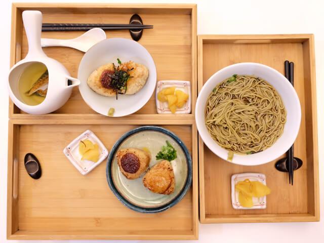簡單素雅的擺盤帶點禪意的感覺-TSUJIRI辻利茶舗松山車站旗艦店