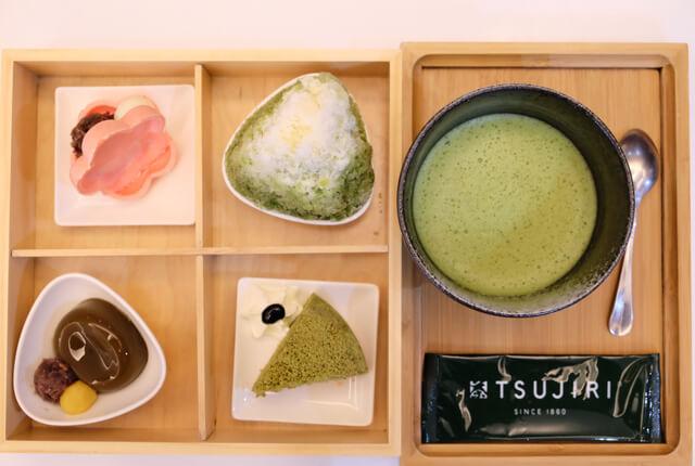 辻利午間套餐-TSUJIRI辻利茶舗松山車站旗艦店