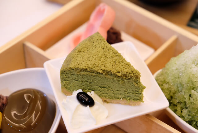 特濃抹茶起司蛋糕-TSUJIRI辻利茶舗松山車站旗艦店